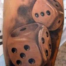 Dice Tattoo Meaning 4