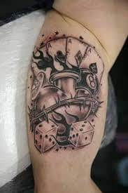 Dice Tattoo Meaning 44