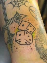 Dice Tattoo Meaning 6