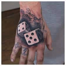 Dice Tattoo Meaning 7