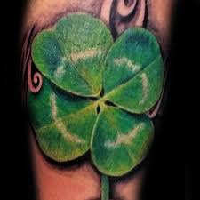 Four Leaf Clover Tattoo Meaning 45 Ideas And Designs