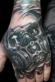 Gas Mask Tattoo Meaning 1