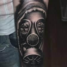 Gas Mask Tattoo Meaning 15