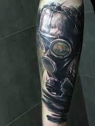 Gas Mask Tattoo Meaning 22