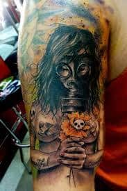 Gas Mask Tattoo Meaning 24