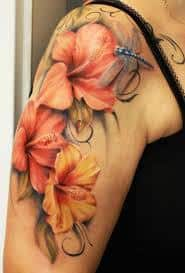 Hibiscus Tattoo Meaning 13
