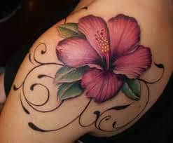 Hibiscus Tattoo Meaning 16