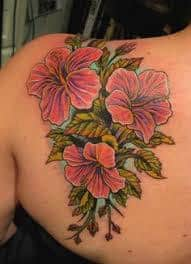 Hibiscus Tattoo Meaning 18