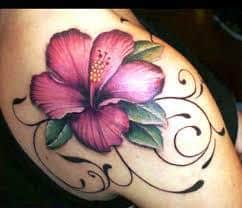 Hibiscus Tattoo Meaning 21