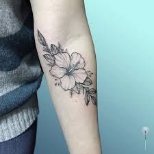 Hibiscus Tattoo Meaning 23