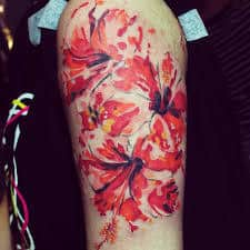 Hibiscus Tattoo Meaning 3