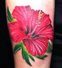 Hibiscus Tattoo Meaning 32