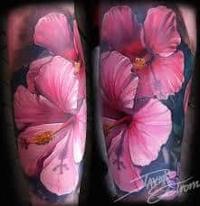 Hibiscus Tattoo Meaning 35