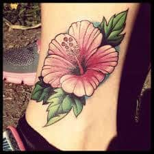Hibiscus Tattoo Meaning 4