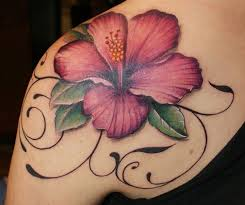 Hibiscus Tattoo Meaning 46