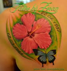 Hibiscus Tattoo Meaning 47