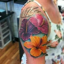 Hibiscus Tattoo Meaning 49
