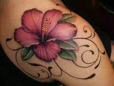 Hibiscus Tattoo Meaning 6