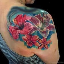 Hibiscus Tattoo Meaning 7