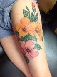 Hibiscus Tattoo Meaning 9