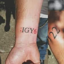 IGY6 Tattoo Meaning 3