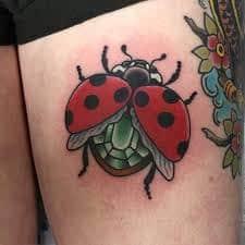 Ladybug Tattoo Meaning 20