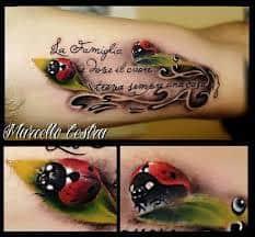 Ladybug Tattoo Meaning 39