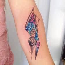 Rocket Tattoo 12