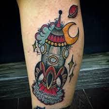 Rocket Tattoo 20
