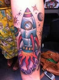 Rocket Tattoo 37
