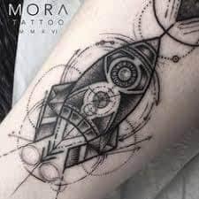Rocket Tattoo 38