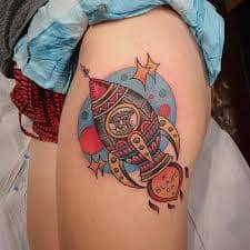 Rocket Tattoo 39