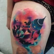Rocket Tattoo 44