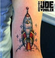 Rocket Tattoo 5
