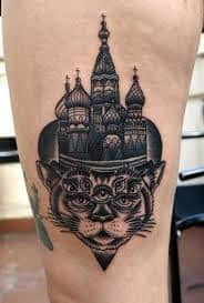 Russian Tattoo Meanings 35