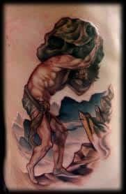 Sisyphus Tattoo 2