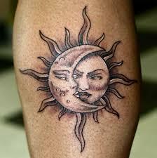 Sun and Moon Tattoos 10