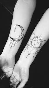 Sun and Moon Tattoos 16