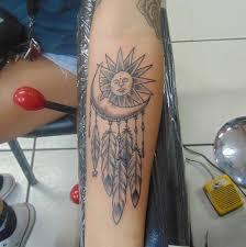 Sun and Moon Tattoos 31