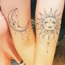 Sun and Moon Tattoos 37