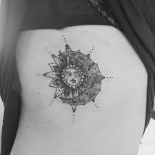 Sun and Moon Tattoos 50