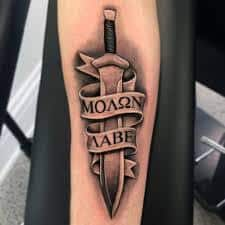 Sword Tattoo Meaning 12
