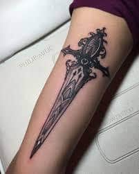 Sword Tattoo Meaning 16