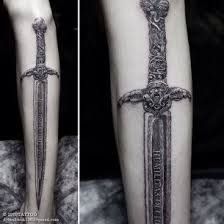 Sword Tattoo Meaning 6