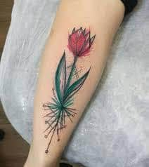 Tulip Tattoo Meaning 10