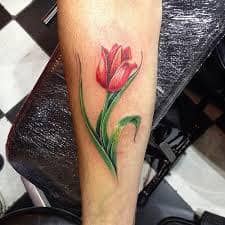 Tulip Tattoo Meaning 36