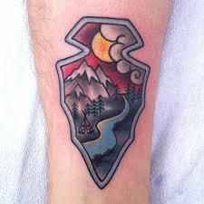 Arrowhead Tattoo Meaning 10