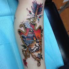 Arrowhead Tattoo Meaning 16