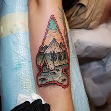 Arrowhead Tattoo Meaning 24