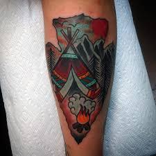 Arrowhead Tattoo Meaning 40